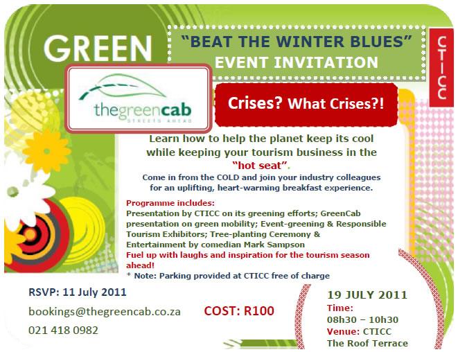 GreenCab Invitation